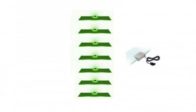 Osvětlení 7 LED - zelená