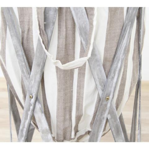 Skládací koš na prádlo DZIMBO 5 HX13-248/WG