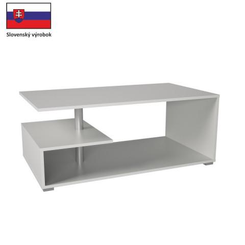 Konferenční stolek DORISA - bílá