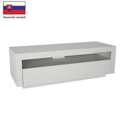 TV stůl AGNES - bílá