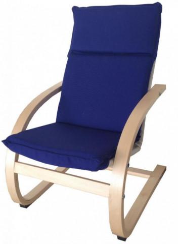 Dětské relaxační křeslo modré