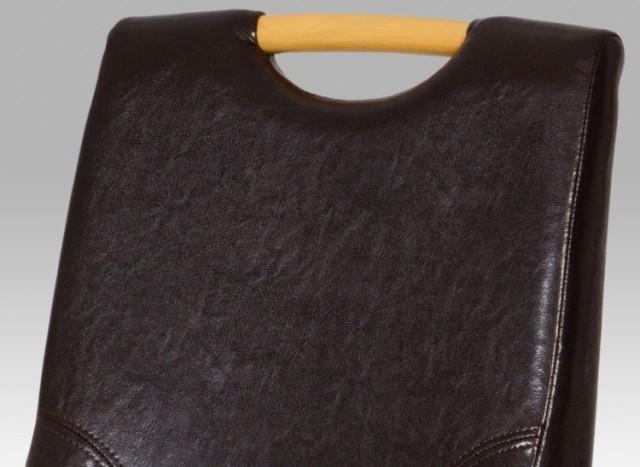 Jídelní židle AUC-207 - br BUK3