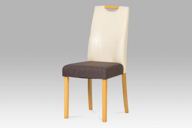 Jídelní židle AUC-208crm BUK3