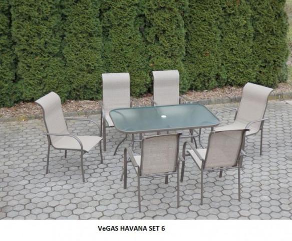 Zahradní set VeGAS HAVANA 6