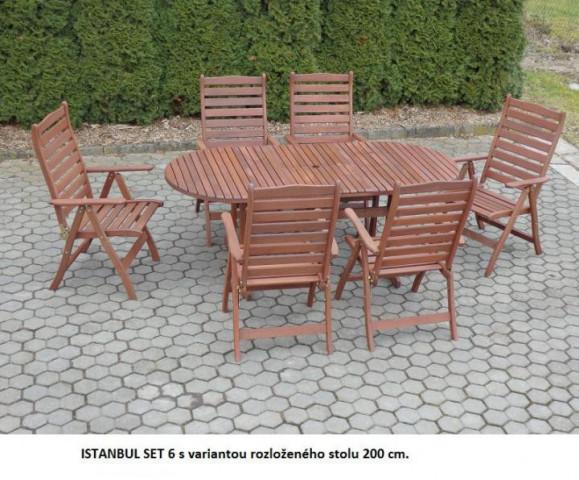 Zahradní set MERANTI ISTANBUL 6