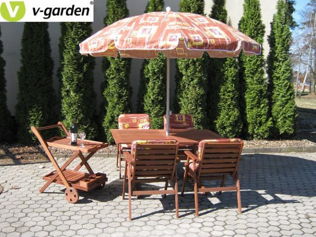 Zahradní set MONROO VeGA 4 - ilustrační foto