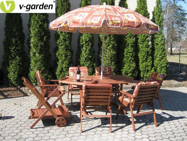 Zahradní set MONROO VeGA 6 - ilustrační foto