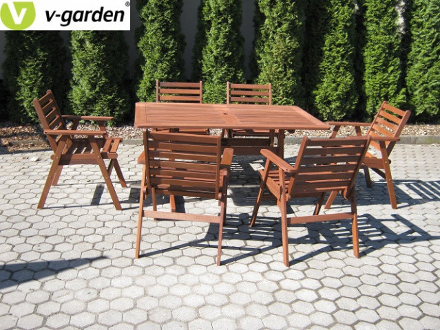 Zahradní set MONROO VeGA 6