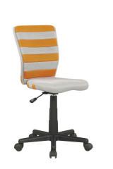 Dětská židle Fuego - Oranžovo-šedá