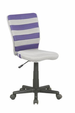 Dětská židle Fuego - Fialovo-šedá