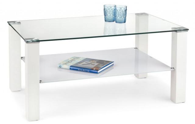 Konferenční stolek Ventura - bílá