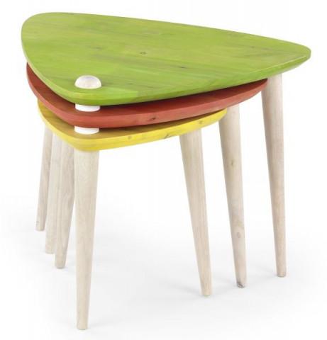 Konferenční stolek Corsica - vícebarevný