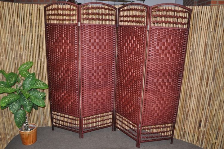 Axin Trading Paravan provázkový barva mahagon