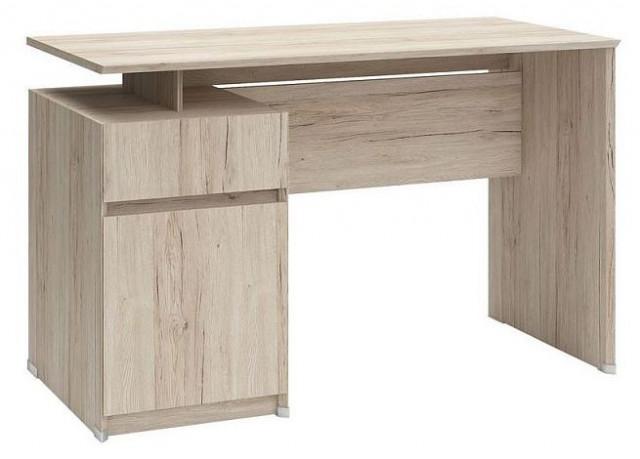 Psací stůl B04 BIU1D1S/120 Dub san remo světlý - dub san remo jasný