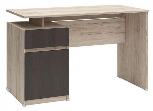 Psací stůl B04 BIU1D1S/120 Dub san remo světlý - wenge
