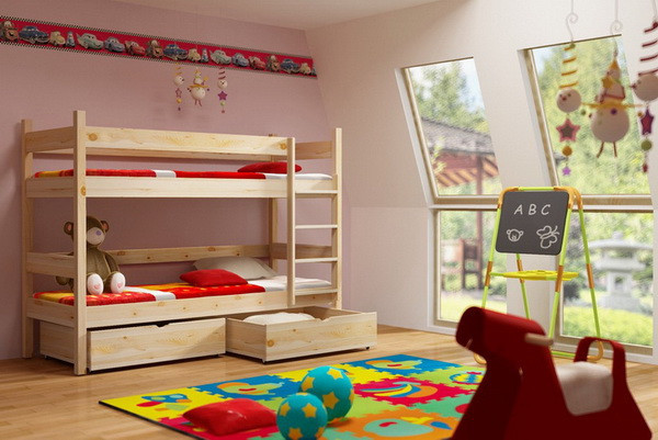 Patrová postel PP 002 + zásuvky