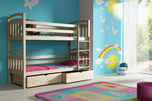 Patrová postel PP 003 + zásuvky