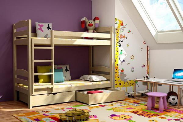 Patrová postel PP 004 + zásuvky