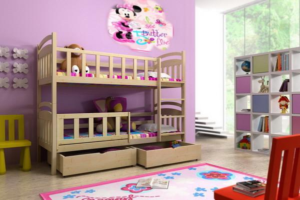 Patrová postel PP 005 + zásuvky
