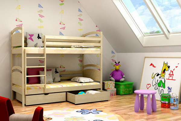 Patrová postel PP 006 + zásuvky