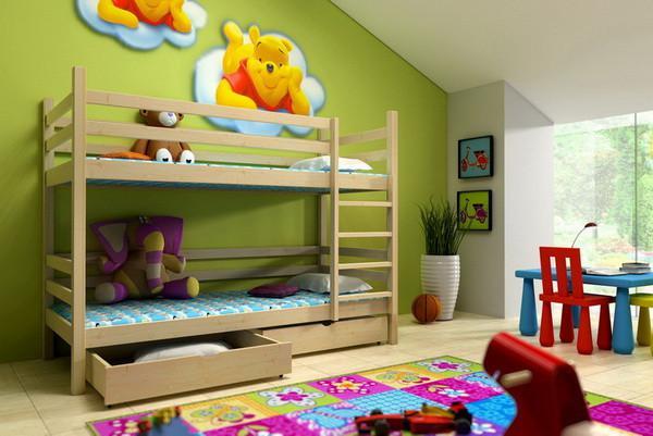 Patrová postel PP 008 + zásuvky