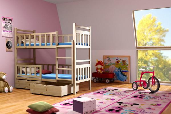 Patrová postel PP 009 + zásuvky