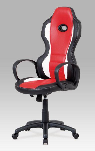 Autronic Kancelářská židle KA-E910 RED - červená
