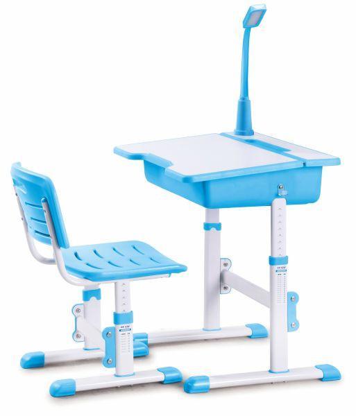 Halmar Psací stůl se židlí ASTRO 3 - modrý
