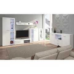Obývací stěna ROCHESTER - bílá