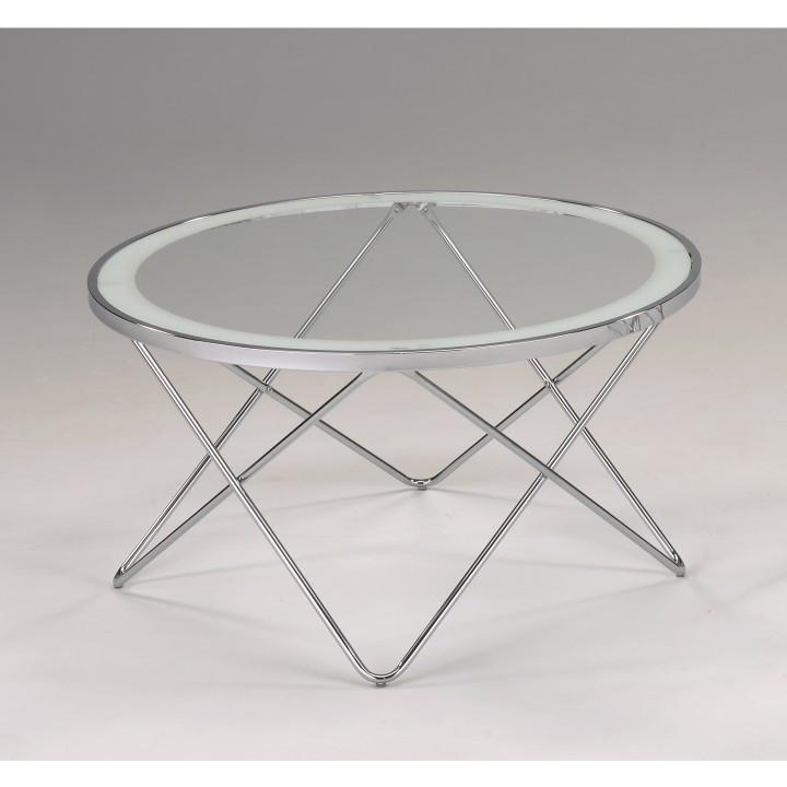 Tempo Kondela Konferenční stolek LEONEL + kupón KONDELA10 na okamžitou slevu 3% (kupón uplatníte v košíku)