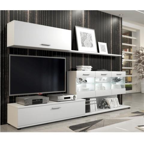 Obývací stěna MURAT - bílá