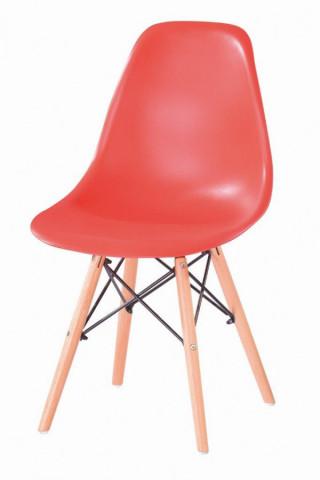 Jídelní židle P-623 - červená