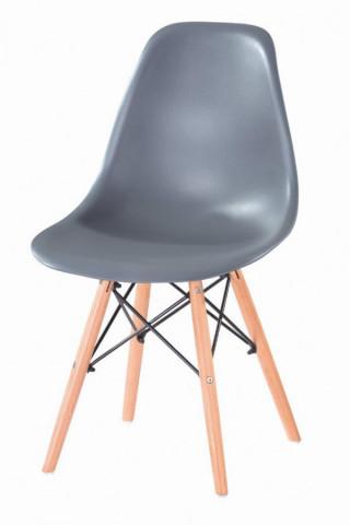 Jídelní židle P-623 - šedá