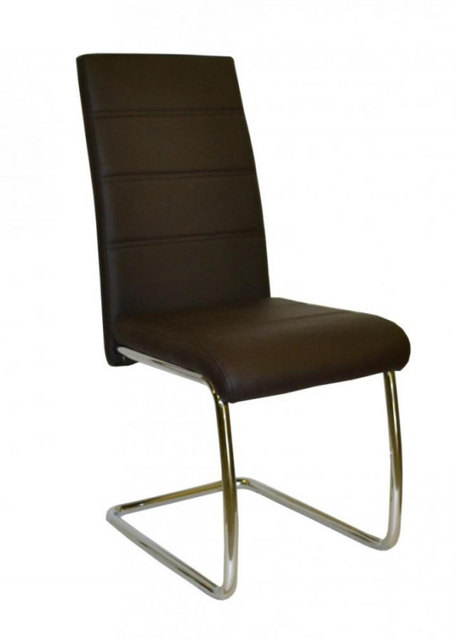 Falco Jídelní židle Y 100 - hnědá