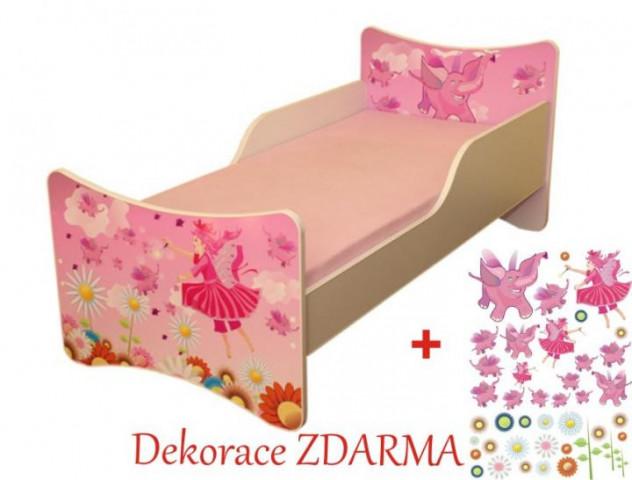 Dětská postel Víly