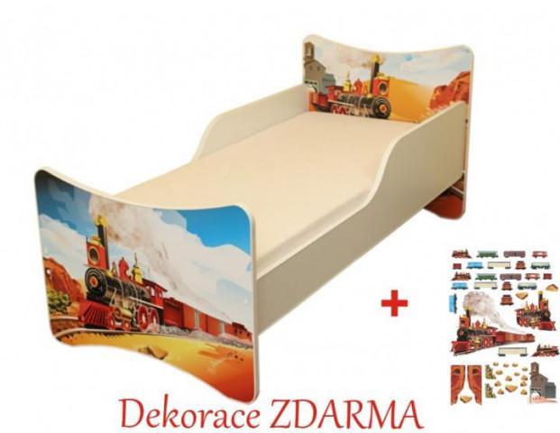 Dětska postel Vláček