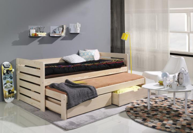 Dětská postel s přistýlkou Praktik