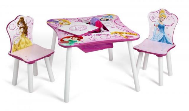 Dětský stůl s židlemi Princess