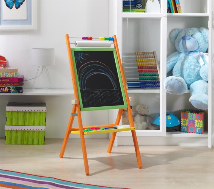 Forclaire Otočná dětská tabule - barevná