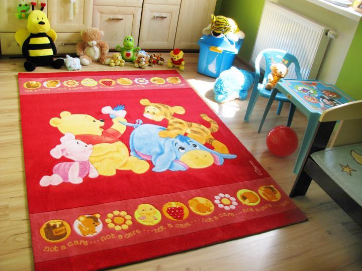 Forclaire Dětský koberec Medvidek Pú BABY 402 rozměr 140 x 200 cm