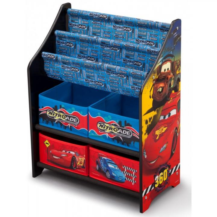 Forclaire Organizér na hračky Cars