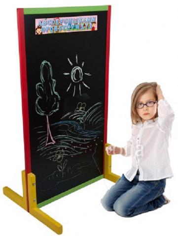 Dětská křídová tabule - barevná