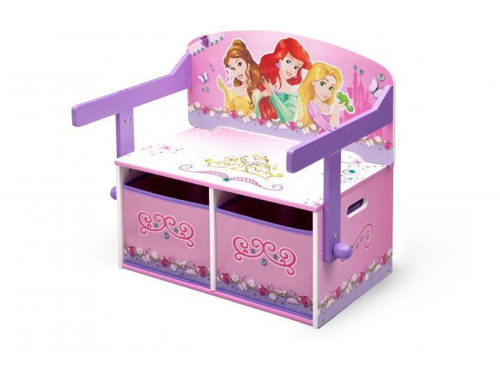 Forclaire Dětská lavice s úložným prostorem Princess