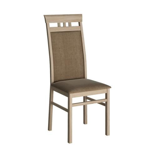 Jídelní židle, DTD laminovaná, dub sonoma, KLEON