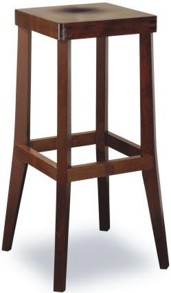 Barová dřevěná židle 371 048 Daniel