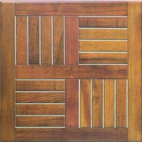 Stolová deska Birman Teak - 70x70 cm