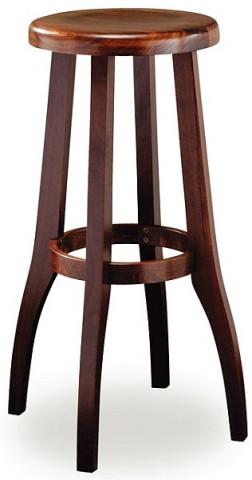 Barová dřevěná židle 371 650 Raul