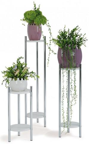 Stojany na květiny bílé GC0829 WT
