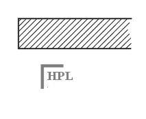 HPL Stolová deska Compacto