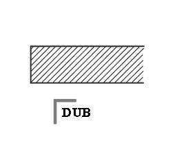 Stolová deska - Dub masiv